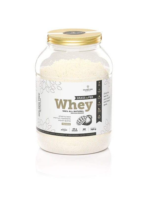 Grass Fed Whey Proteini