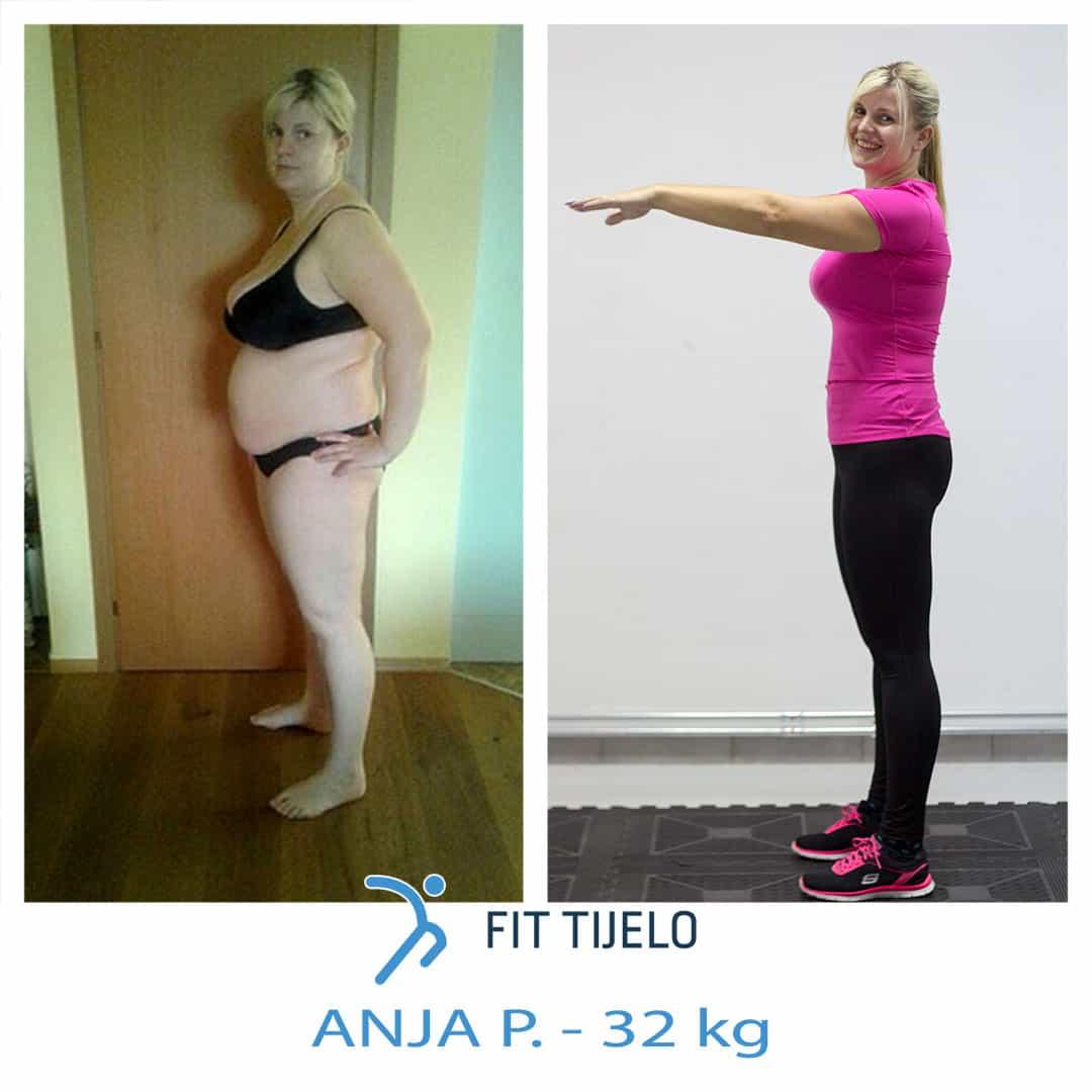 [ISPOVIJEST] Anja je nakon izgubljenih 32 kilograma potpuno nova žena! Njena priča me dodirnula…