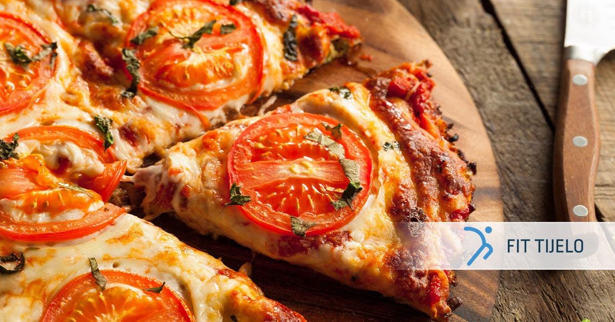 Niskokalorična FIT pica – bez glutena