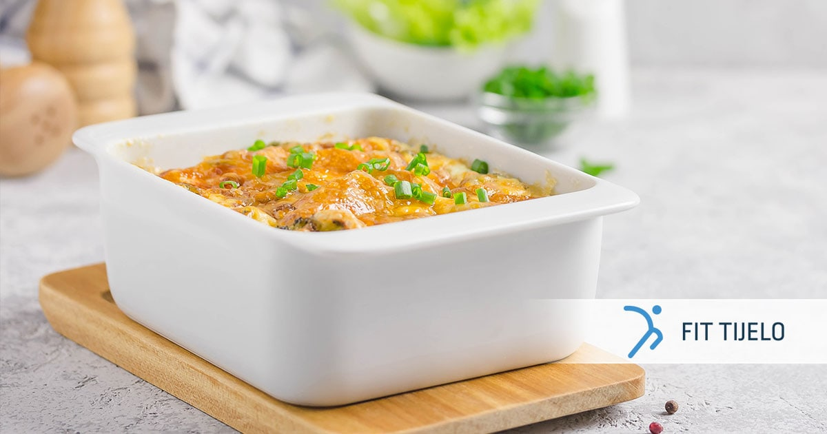 Musaka od kvinoje s povrćem i piletinom