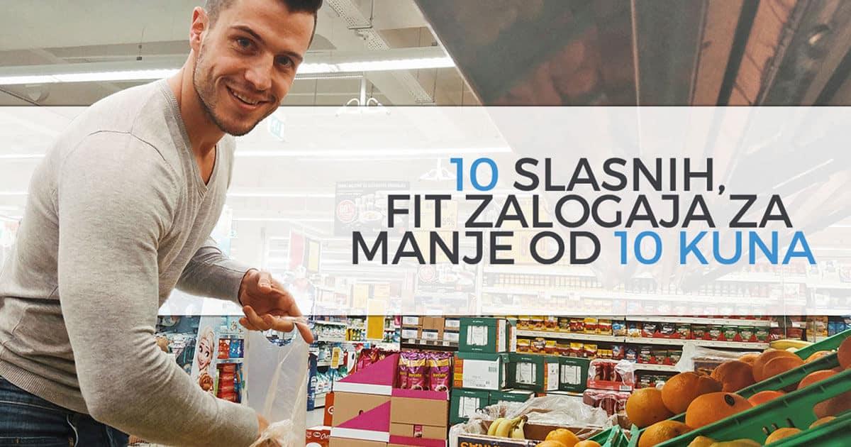 10 slasnih, fit zalogaja za manje od 10 kuna