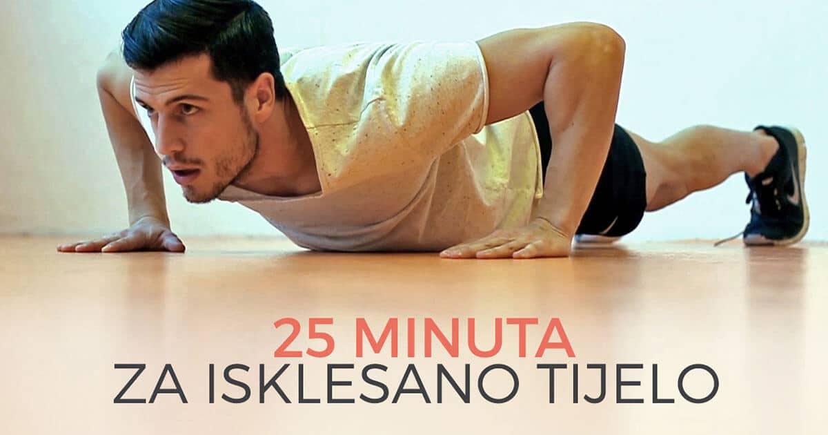 25 minuta za isklesano tijelo