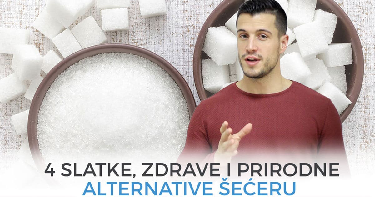 4 slatke, zdrave i prirodne alternative šećeru