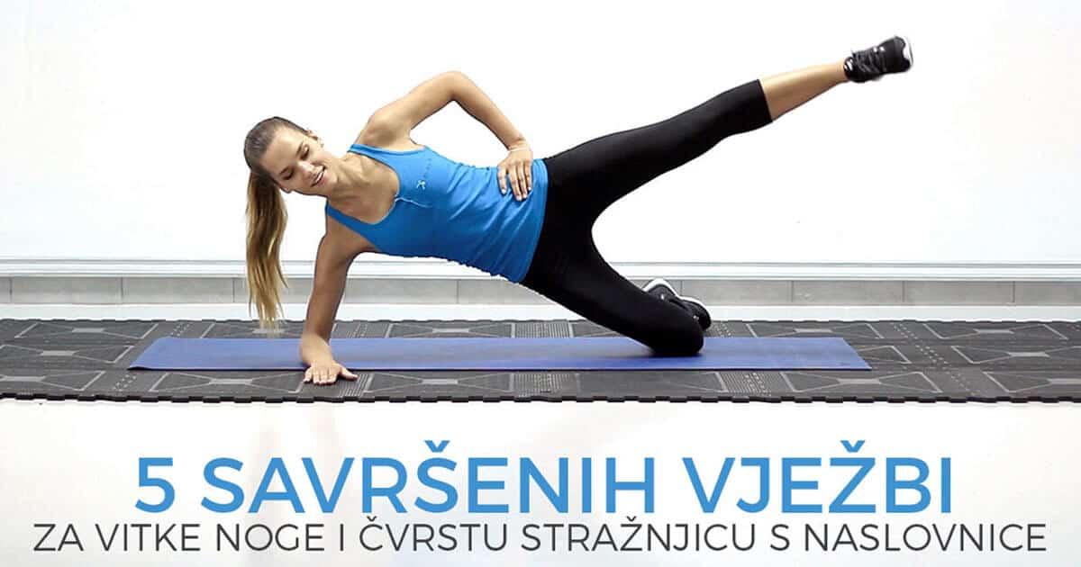 5 savršenih vježbi za vitke noge i čvrstu stražnjicu s naslovnice (uslišena ženska želja)