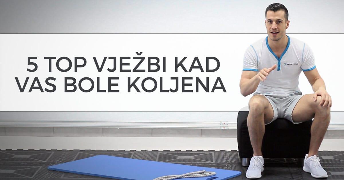 5 top vježbi za fit tijelo kad vas bole koljena