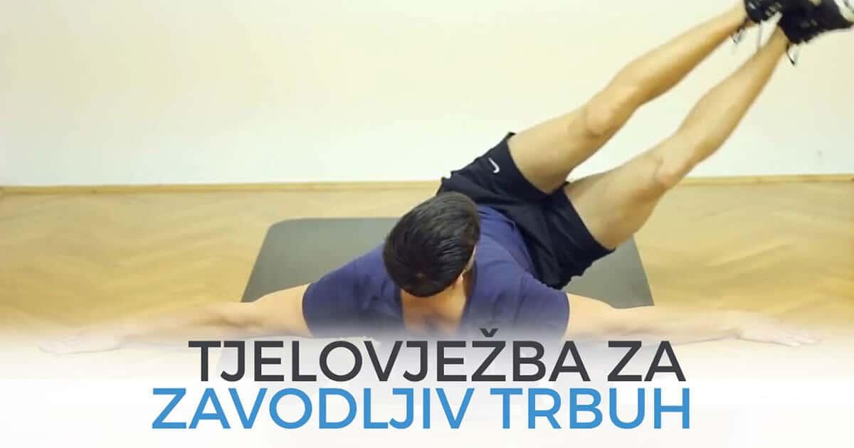 Najbolja vježba za zavodljiv trbuh