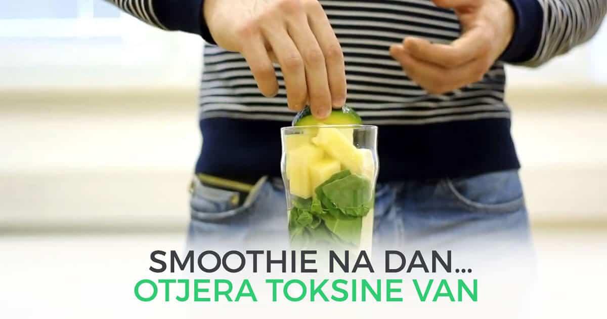 Smoothie na dan…otjera toksine van
