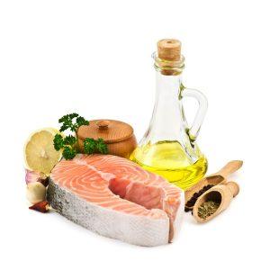 laks og olje mat