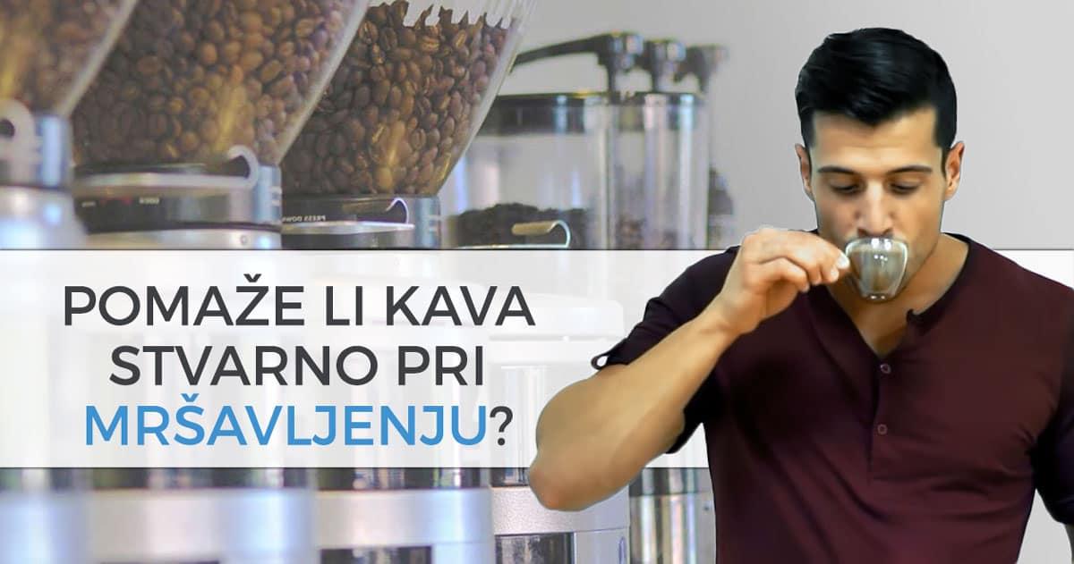 Pomaže li kava stvarno pri mršavljenju?