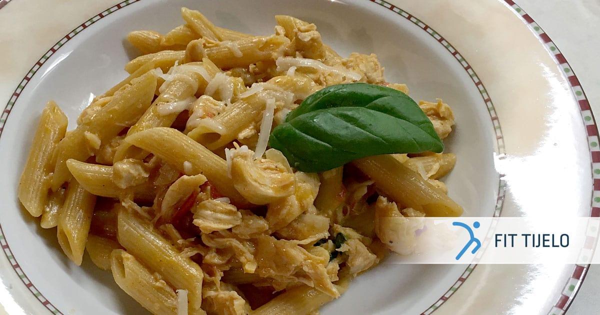 Punozrnata tjestenina s piletinom