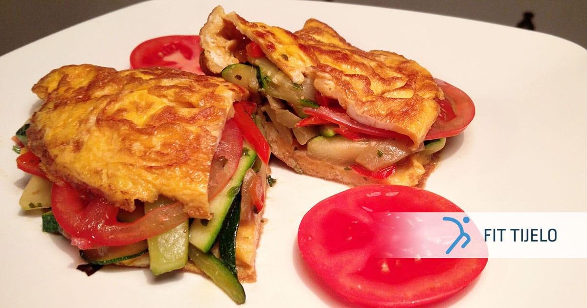 Odličan omlet od jaja i povrća
