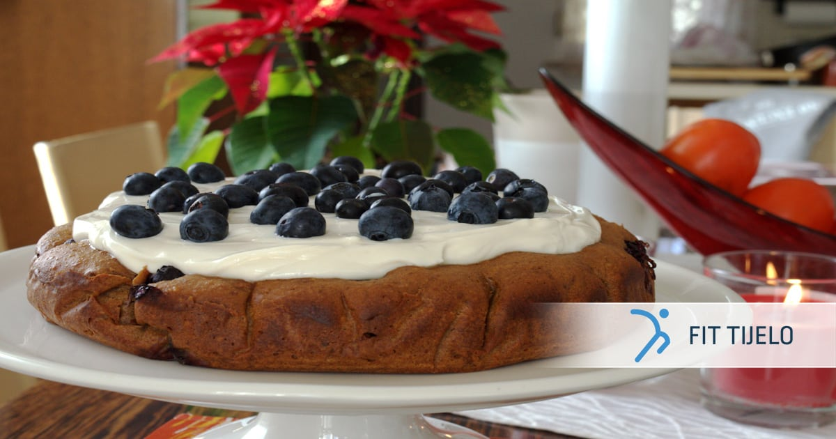 Fit torta od borovnica