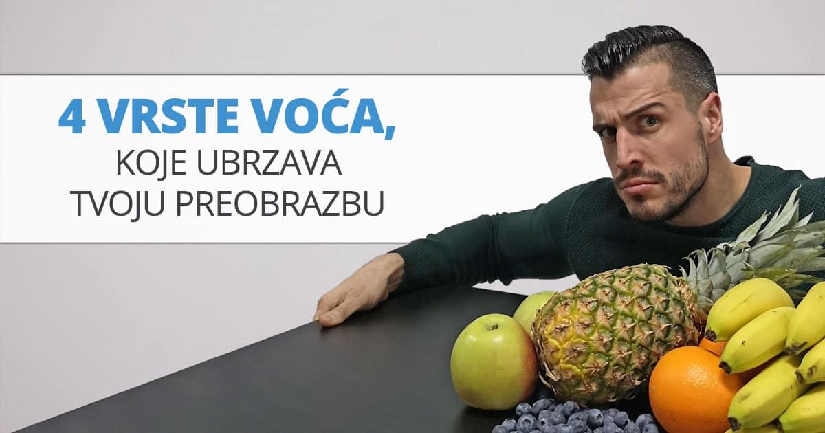 4 vrste voća, koje ubrzava tvoju preobrazbu