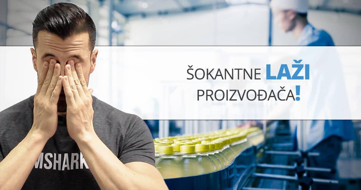 Proizvođači LAŽU – procesuirane namirnice UBIJAJU