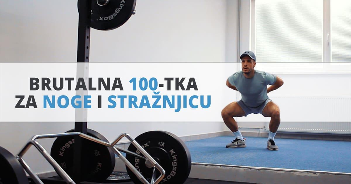Brutalna 100-ka za noge