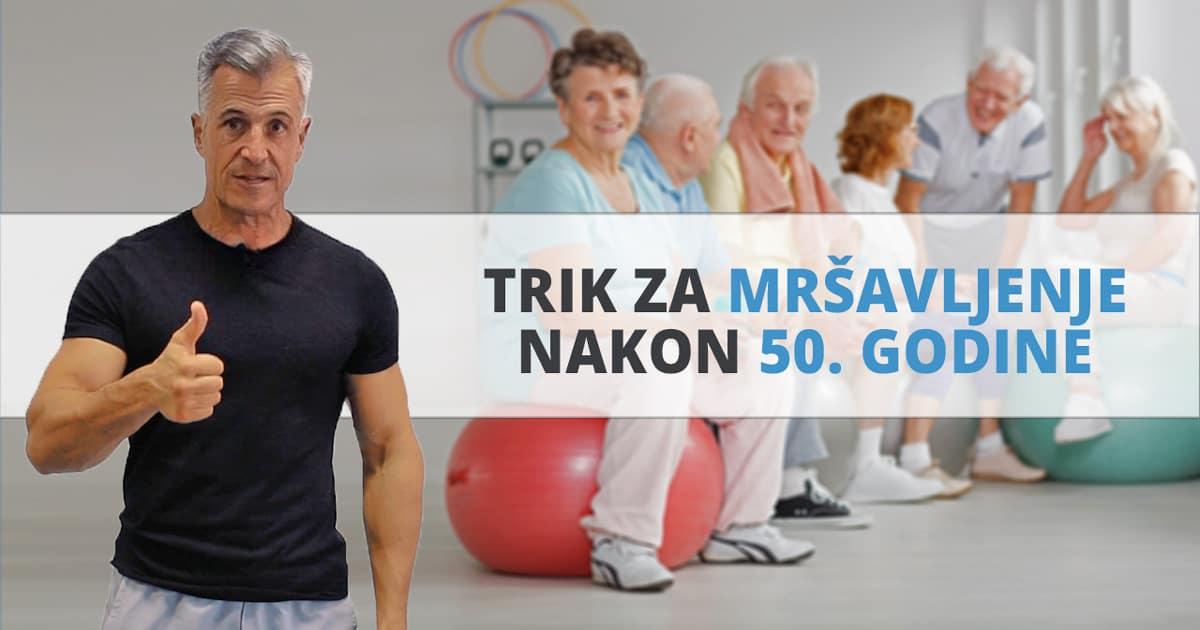 Trik za mršavljenje nakon 50. godine