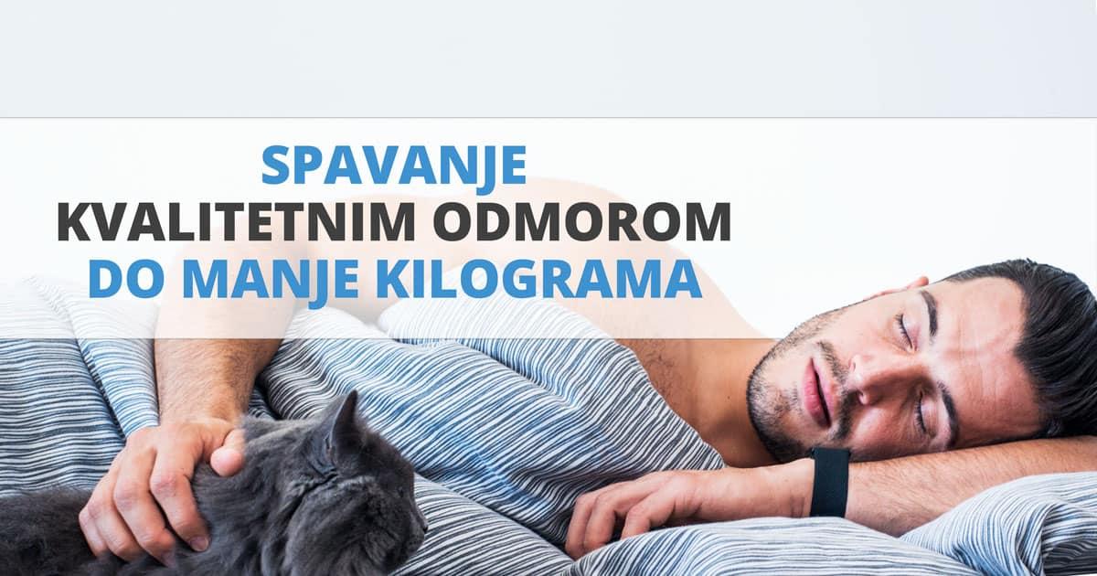 Spavanje – kvalitetnim odmorom do manje kilograma