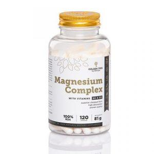Golden Tree Magnesium Complex + vitamin B6 i vitamin D3