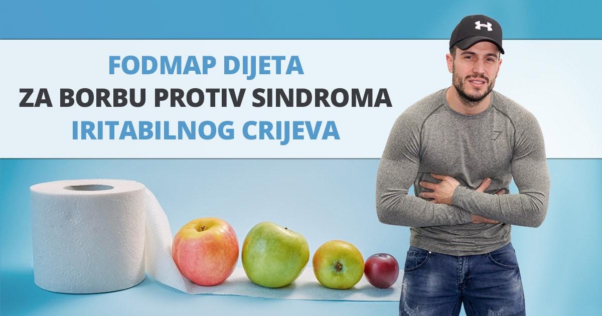 FODMAP dijeta za borbu protiv sindroma iritabilnog crijeva