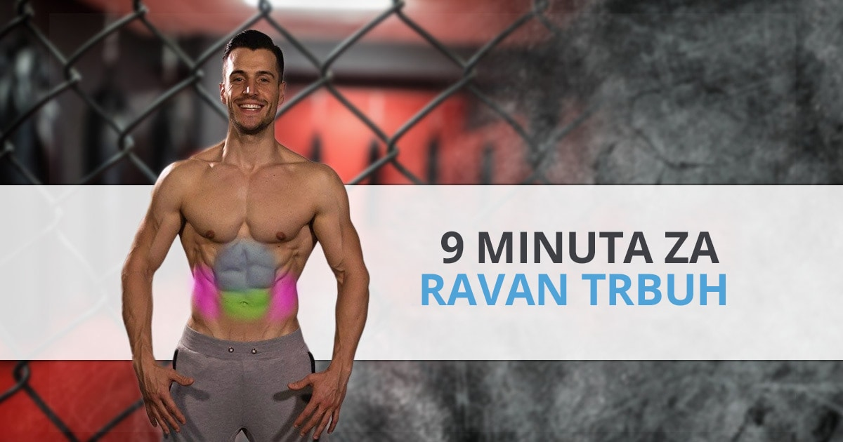9 top vježbi za ravan trbuh koje možeš raditi kod kuće