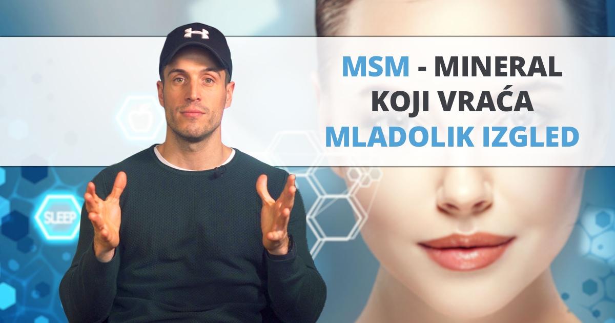 MSM – mineral za blistavu kožu, gustu kosu i zdrave zglobove