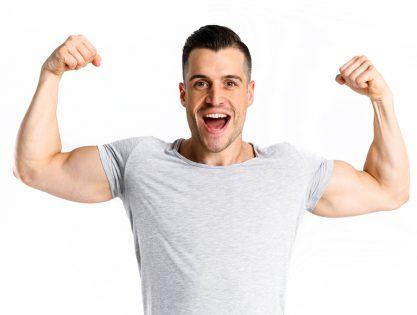 čvrsti mišići ruku