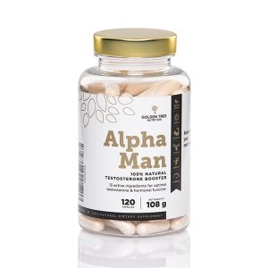 Golden Tree Alpha Man 100 % Natural Testosterone Booster