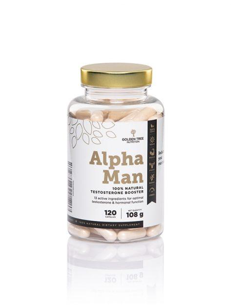 Golden Tree Alpha Man 100 % Natural Testosterone Booster