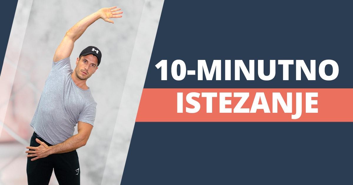 Vježbe istezanja cijelog tijela – 10-minutno vođeno istezanje