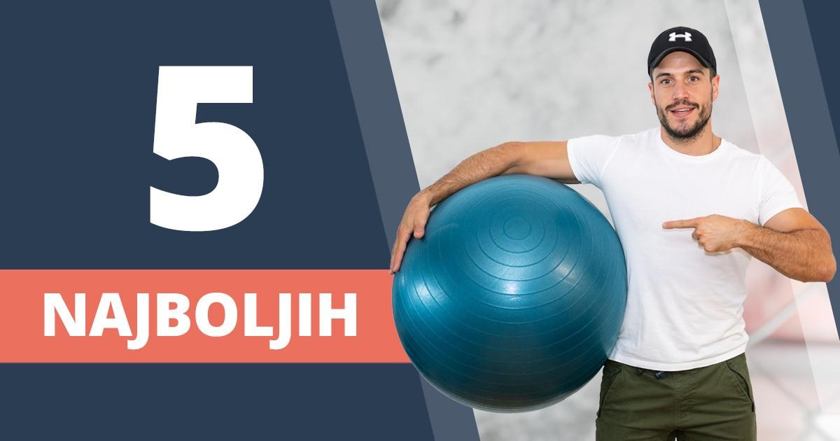 Vježbe s pilates loptom – 5 najboljih za cijelo tijelo