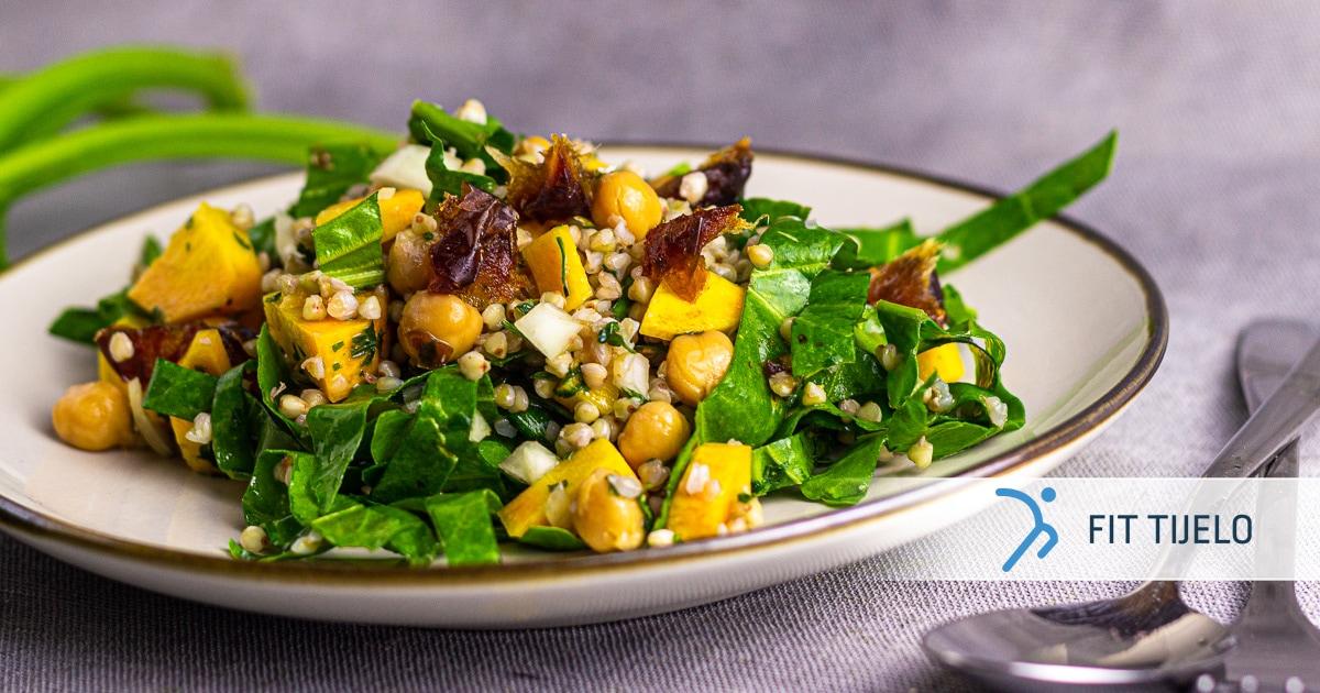 Marokanska salata s heljdinom kašom