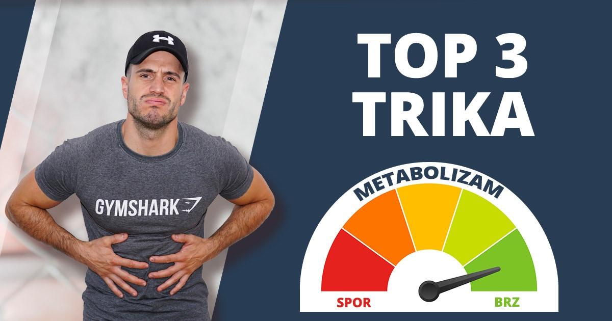 Kako ubrzati metabolizam? 3 trika za brzu preobrazbu