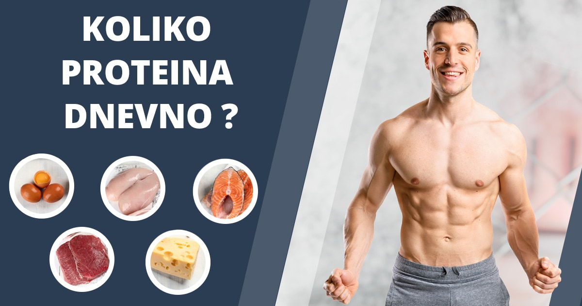 Koliko proteina bi trebalo dnevno konzumirati?