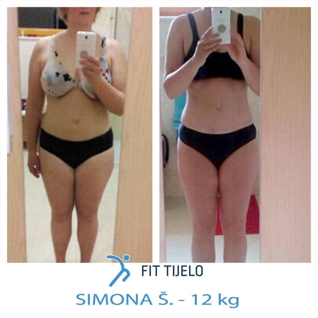 [SLIKA] Zdravnica Simona izgubila 12 kg s Formulo Popolne Postave