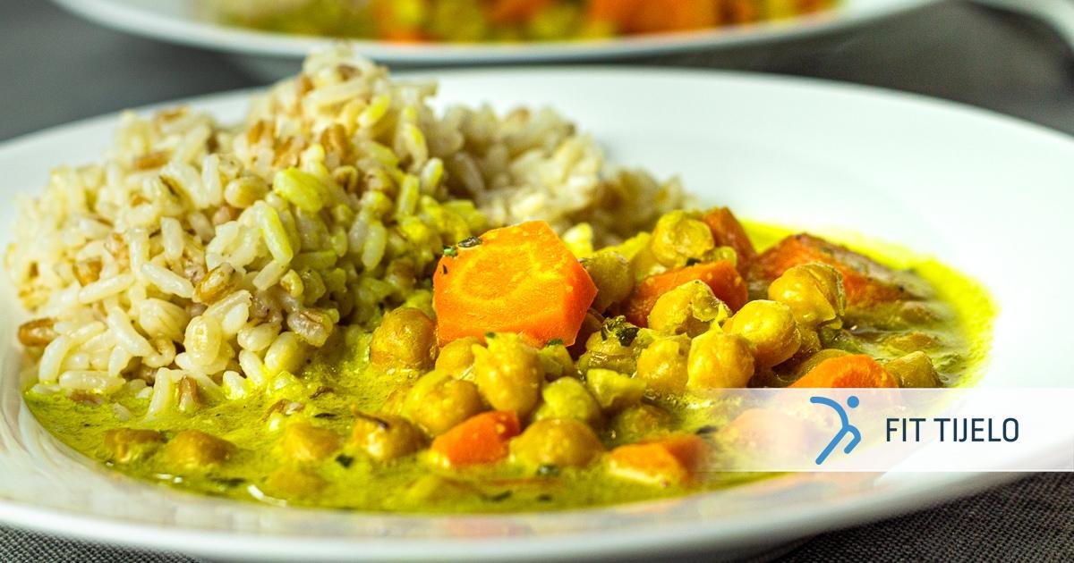 Curry od slanutka u jednom loncu