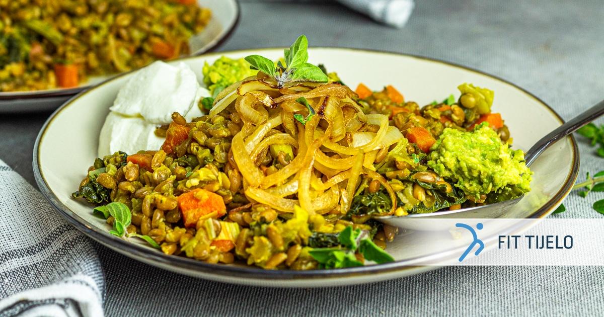 Mujadara – arapsko povrtno jelo