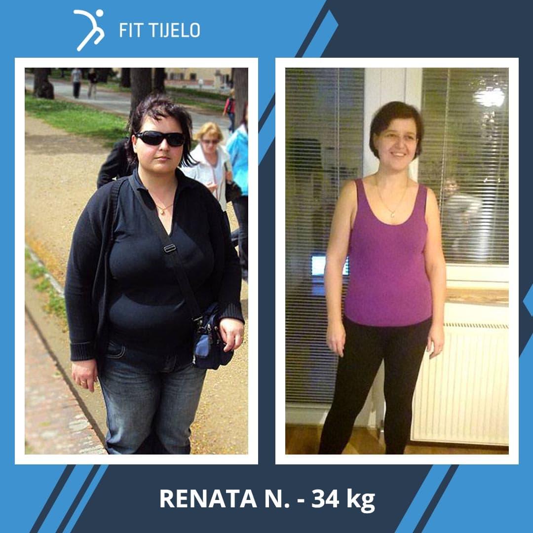 Renata je izgubila nevjerojatnih 34 kg! U godinu i pol je ostvarila nemoguće …