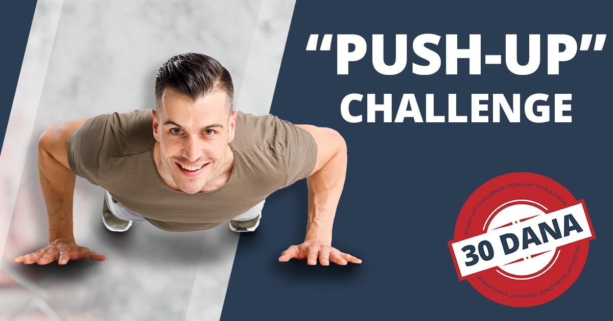 Kako pravilno raditi sklekove? + Push up challenge