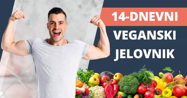 14-dnevni veganski jelovnik + 40 besplatnih recepata