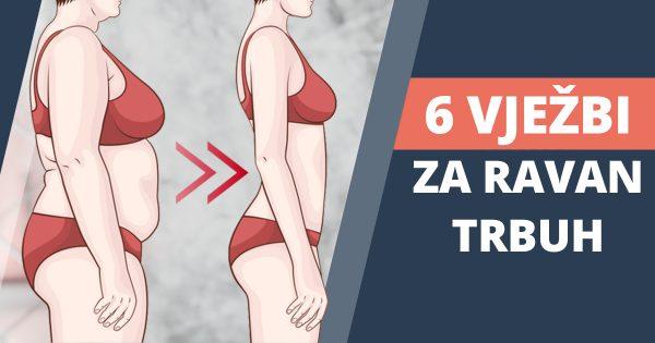 6 jednostavnih vježbi za ravan trbuh i struk